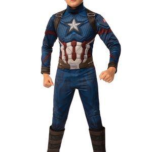 Boys Avengers Marvel Captain America Costume
